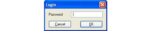 Image of Login Window